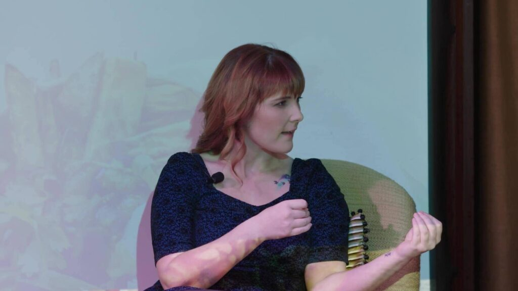 Jessica Lorimer Speaking At Selling To Corporates Event